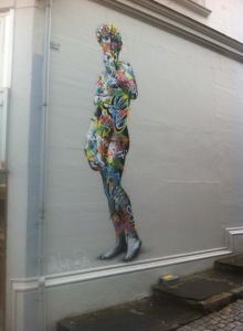 Martin Whatson peaces from around Stavanger city centre